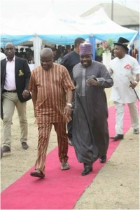 Sen Ali Sheriff and Gov Wike of Rivers in Port Harcourt